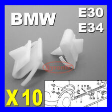 BMW E30 E34 SIDE SILL KICK PLATE COVER TRIM CLIPS SCUFF PROTECTION 3 5 Series