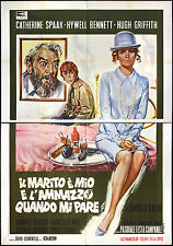 CINEMA-manifesto IL MARITO è MIO E L'AMMAZZO QUANDO MI PARE spaak, bennett,valli