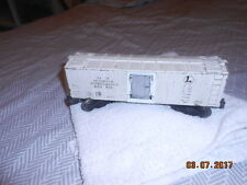 LIONEL O SCALE BOXCAR NO. 3462 AUTOMATIC REFRIGERATED MILK CAR WIRED ETC.