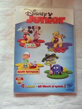 DISNEY JUNIOR 4 Episodi  Film DVD Collezione
