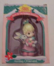 Precious Moments home for the holidays collection christmas easter NIB rabbit