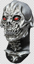 Skull Destroyer Full Head and Neck Latex Mask Halloween LARP Fancy Dress Adult
