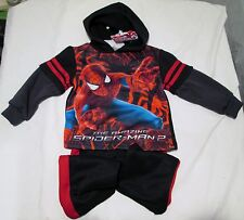 The Amazing Spider-Man 2 Two Piece Hoodie Outfit Size 2T NWT