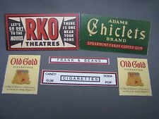 Mini-Craft, Flyerville Refreshment Stand Sign Assortment for American Flyer