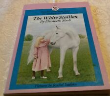 RETRO 2nd Grade Kids Book: THE WHITE STALLION BY ELIZABETH SHUB 1984