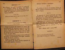 REGIO DECRETO - Accettata rinunzia Monsignor Vescovo di Boiano - 316