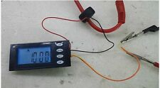 AC 100A Digital LED power meter Voltage KWh time watt Voltmeter Ammeter With CT