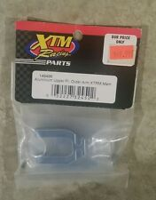 NEW RC XTM Racing #149496 Blue Aluminum Upper Front Outer Arm Mammoth, XTRM