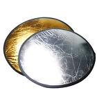 32 2in1 Photo Studio Photography Collapsible Gold Silver Light Round Reflector x