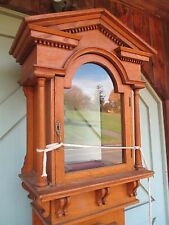 Victorian GRANDFATHER CLOCK part VICTORIAN delivery available-ask OAK FURNITURE