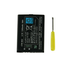 New 1300mAh 3.7V Battery Replacement Pack + Tool For Nintendo  3DS US