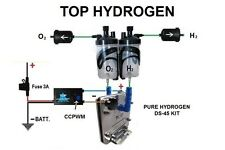 H2 PURE HYDROGEN GENERATOR DS-45, FUEL ECONOMY KIT for cars CCPWM+HHO function.
