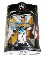 WWE SHAWN MICHAELS HAND SIGNED CLASSIC SERIES 1 ACTION FIGURE WITH EXACT PROOF