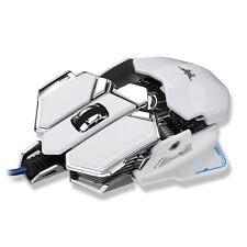 Combaterwing 4800DPI USB Wired Professional Gaming Mouse Programmable 10 Buttons