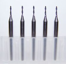 "(5) 1.00mm (.0394"") 2 FLUTE MICRO CARBIDE ENDMILLS - SPECIAL PRICE"