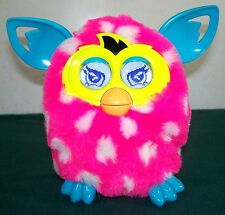 2012 Furby Boom Interactive Electronic Toy - Pink & White - Excellent Condition!