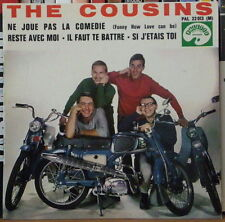 "THE COUSINS NE JOUE PAS LA COMEDIE MOTOCYCLE COVER 45t 7"" FRENCH EP"