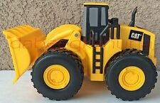 """Toy State Industrial Ltd-Tractor-Hard Plastic Body-Rubber Tires-7 """" Tire to Tire"""