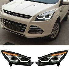 Fit for Ford Kuga Escape 2013-2016 Car Headlight DRL Fog Lamp Projector Lens