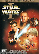 STAR WARS - Episode 1 (I) - The Phantom Menace DVD Ewan McGregor 2-DISC SET R4