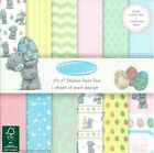 DOVECRAFT ME TO YOU EASTER PAPERS 6 X 6 SAMPLE PACK 1 OF EACH DESIGN - 12 SHEETS