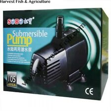 Sobo Submersible Pump WP 105 for Aquarium, Fountains, Coolers 130 W, 5 meters