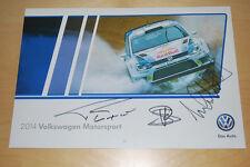 VW Volkswagen Motorsport Calendar, Tanner Foust, Scott Speed, Michael Andretti
