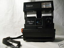 """Polaroid OneStep"" Instant Film Camera Flash Strap ""One Step"" Vintage"