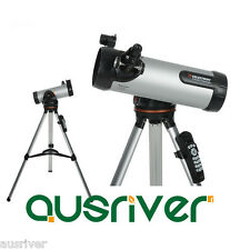 Celestron 114LCM Computerized Telescope Astronomy Automatical Finderscope 31150
