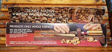 Texas Native Inertia Nutcracker Complete Pecan Macadamia Almond Walnut - New!