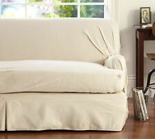 Pottery Barn SEPARATE SEAT Loose-Fit T-Cushion Slipcover SMALL Sofa - Cream
