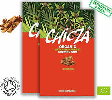 Chicza the organic rainforest chewing-gum - 2 x 30g cannelle * nouveau parfum *