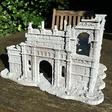 Ruined Building of Osgiliath / Gondor - High Quality LOTR resin terrain, scenery