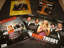 BIG BANG THEORY 4 Emmy ads with Jim Parsons, Johnny Galecki with money