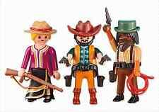Playmobil Western Oeste Ref 6278 Dos Cowboys y Mujer Vaquera NUEVO, Vaqueros