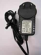 Aus 9v AC-DC Power Adaptador Cargador Para Casio Tone Bank Keyboard Modelo ma-101 / 201