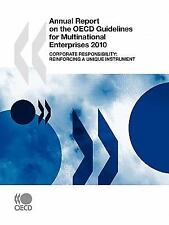 Annual Report on the OECD Guidelines for Multinational Enterprises 2010:  Corpor