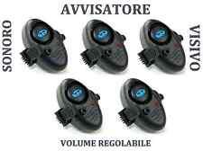 5 micro avvisatori abboccata pesca surfcasting segnalatore acustico volume reg