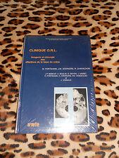 CLINIQUE O.R.L., imagerie et chirurgie des affections de la base du crâne - 1992