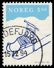 "NORWAY 1071 - Christmas ""Kick Sled"" Issue (pa47768)"