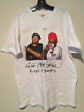 Supreme Three Six Mafia T Shirt XL White OG Kaws Moss Vintage Rare Box 3 6 Real