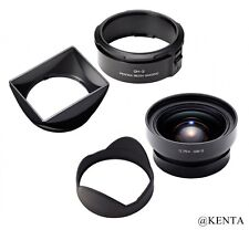 RICOH GW-3 Wide Angle Conversion Lens 21mm bundles Hood and Adapter GH-3 F/S EMS