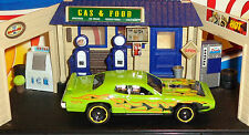 Hot Wheels Loose '71 Plymouth Road Runner (Green Version)