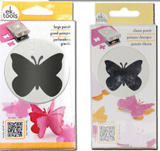 "Butterfly Slim Punch Set - Large 1.75"" & Classic 1.25"" Sizes by EK Success"