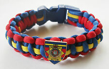 RLC (ROYAL LOGISTIC CORPS) PARACORD WRISTBAND