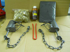 2 - Duke DP Trap Coon Trapping PACKAGE w/ DP SETTER & Instructional DVD
