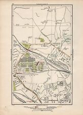 1923 LONDON STREET MAP - KINSBURY,STONEBRIDGE PARK, BRITISH EMPIRE EXHIBITION