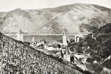 1934 Vintage 11x14 GERMANY Bacharach Mountain Landscape Photo Art By Paul Wolff