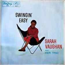SARAH VAUGHAN ‎- Swingin' Easy (LP) (EX-/EX-)