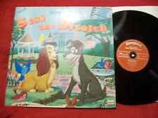 Susi und Strolch   klasse Disneyland LP  Neuauflage mit Buch